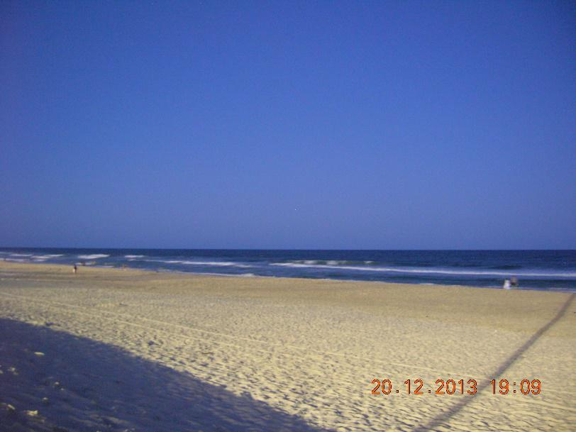 the main beach