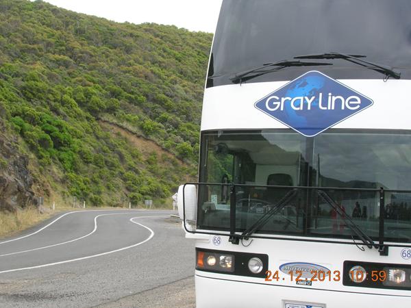Great Ocean Road Tour Bus