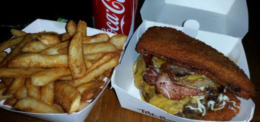 JDs Burgers Asian Fusion Gokus Spirit Bomb Burger Mont Albert Victoria