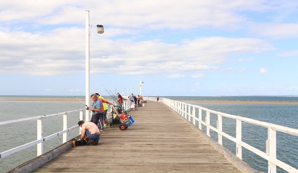 fishing Hervey Bay, Queensland