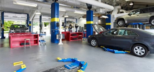 Auto Body Scratch Repair Shop