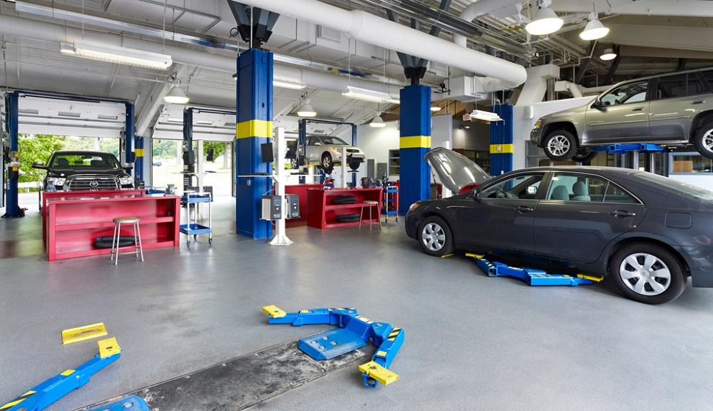 Auto Body Scratch Repair Shop