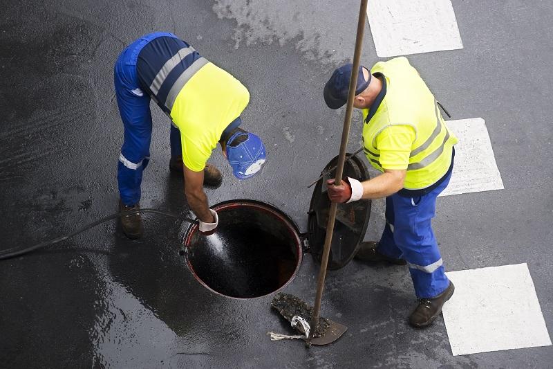 Blocked Sewer Drain