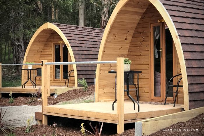 Glampingp Secluded Pod
